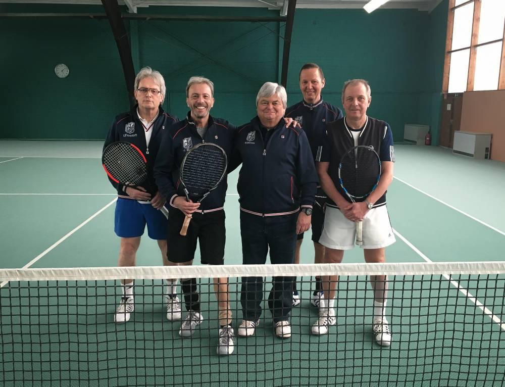 Herren 60 sind Niederrheinmeister