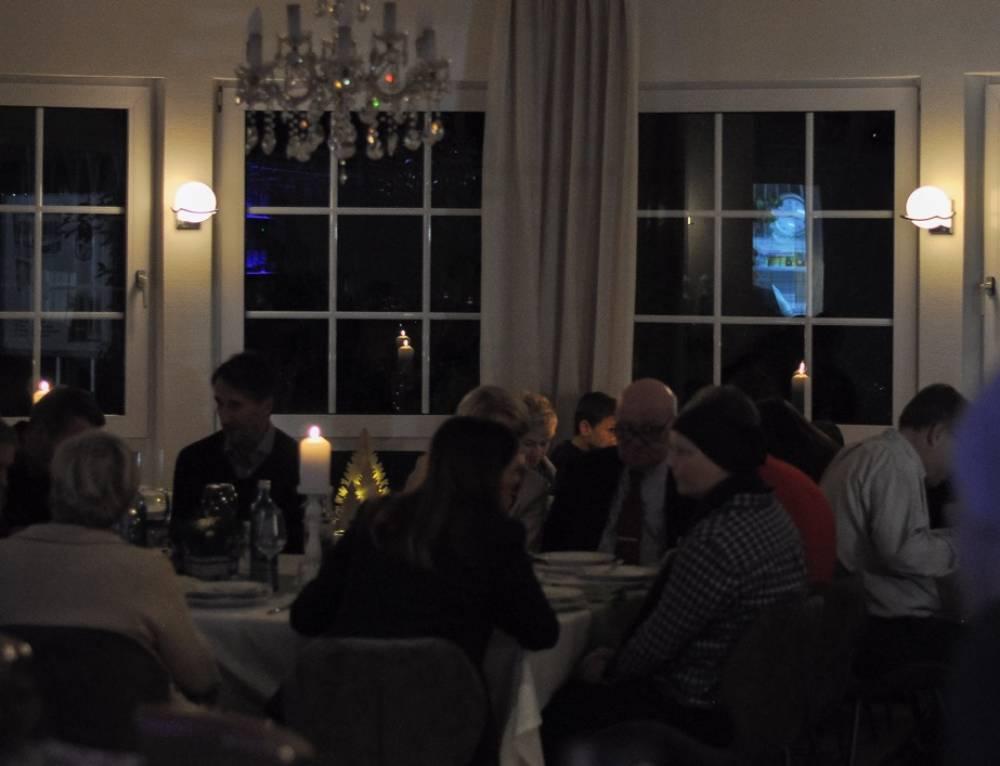 Ausgebuchte TC Blau-Weiss Weihnachtsfeier als gelungener Jahresabschluss
