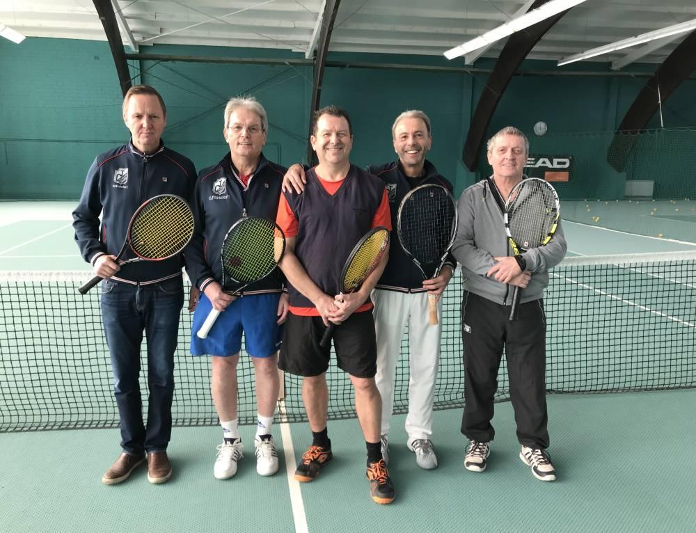 Herren 60 sind wieder Meister in der Niederrheinliga!