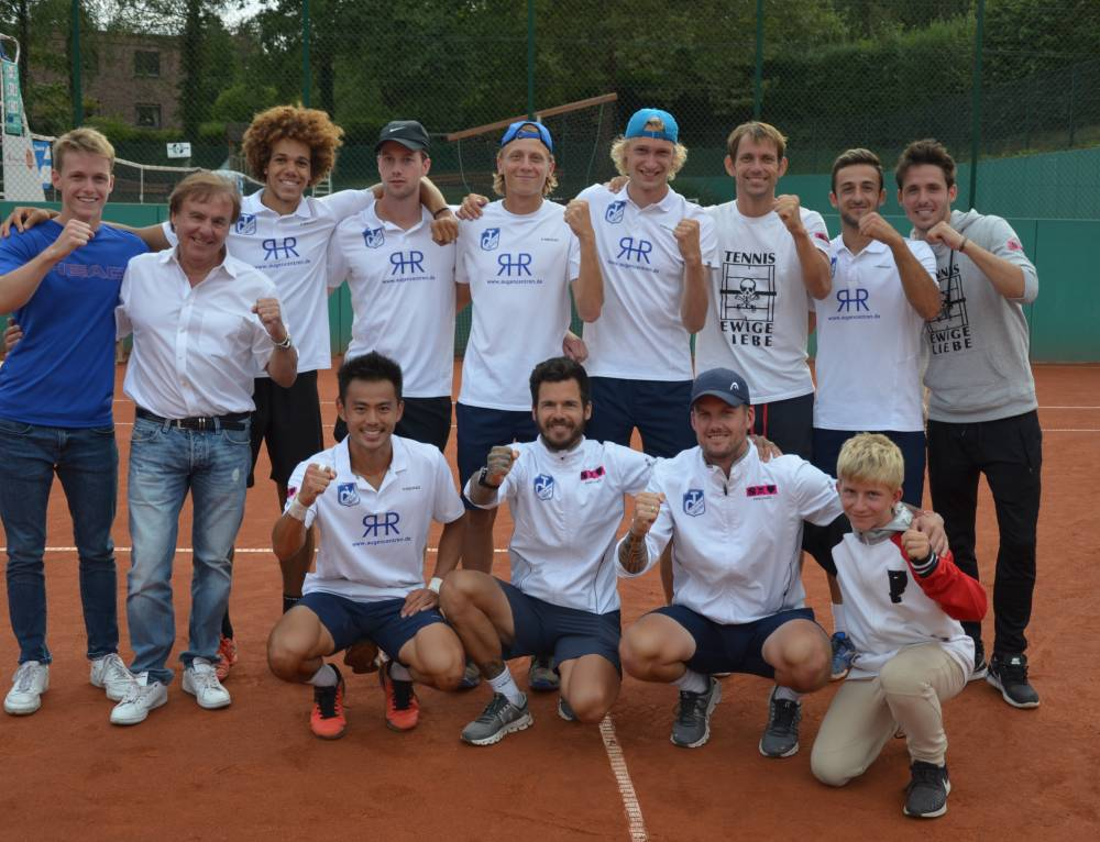 Tennis Ewige Liebe BW Neuss steigt ungeschlagen in die 1. Bundesliga auf
