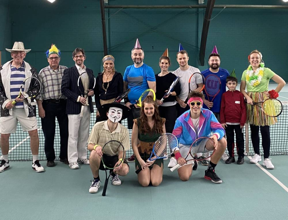 Crazy Night Turnier beim TC Blau-Weiss Neuss
